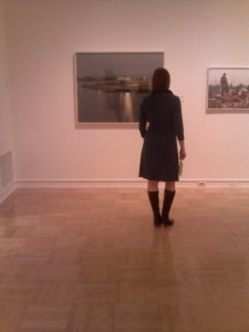 Jean at the Frey Gallery
