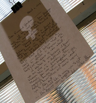letter to Jesse Jackson