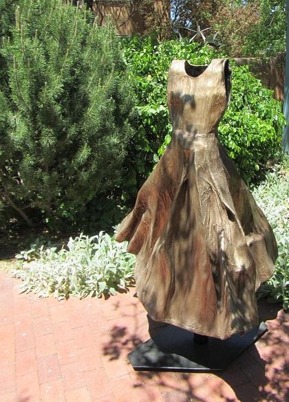 dress sculpture