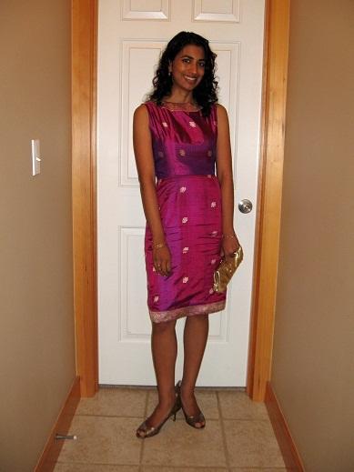 upcycled sari