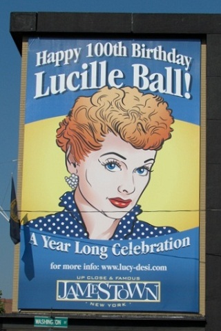 lucy mural in Jamestown