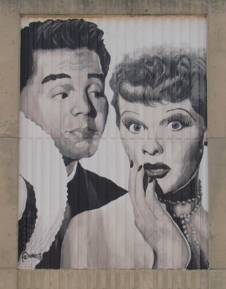 lucy and desi in Jamestown