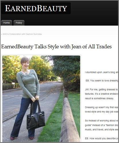 earned beauty interview