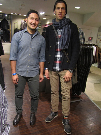 The guys from Aldo