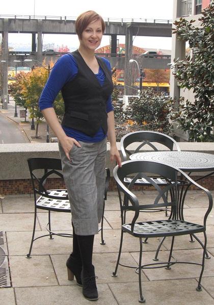 vest and pants