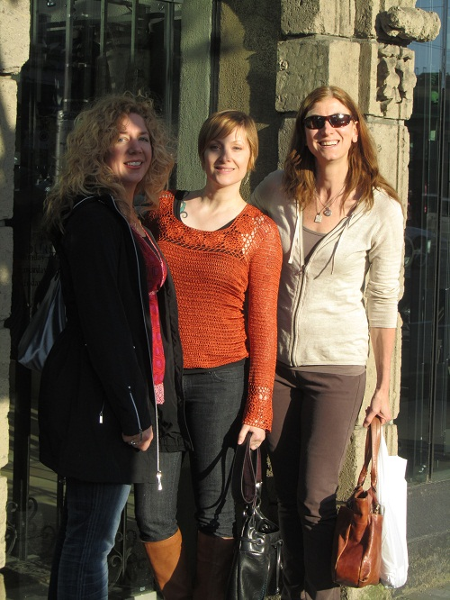 Laura, Jean, and Cheryl at Boboli