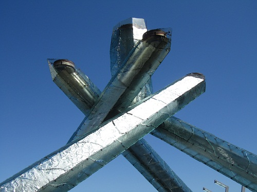 Olympic sculpture