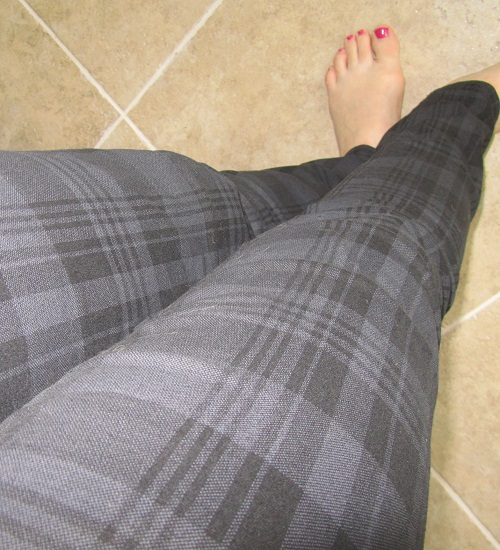 plaid skinnies
