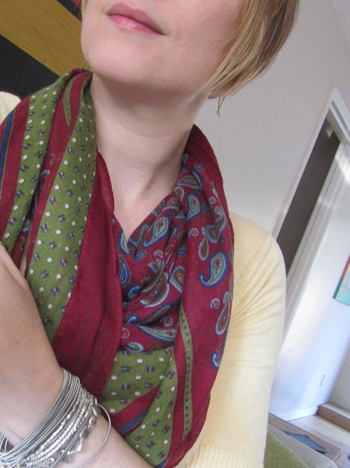 merlot scarf
