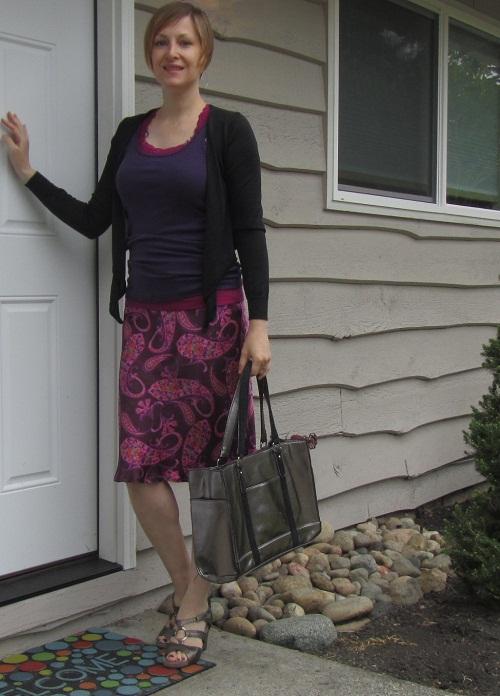 paisley skirt