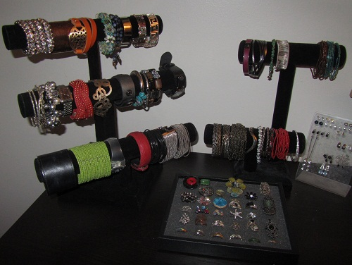 Bracelets, rings, and studs