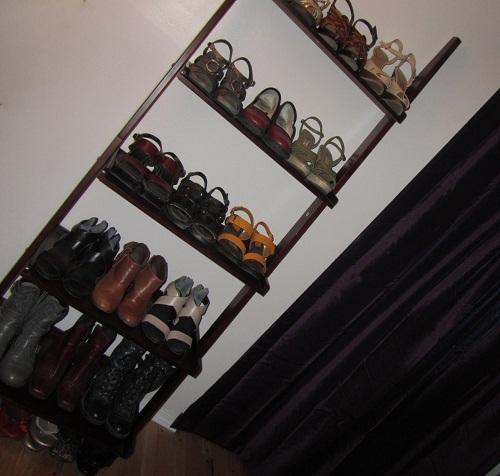 drapey closet doors