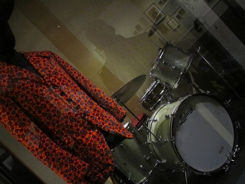 jacket and drums