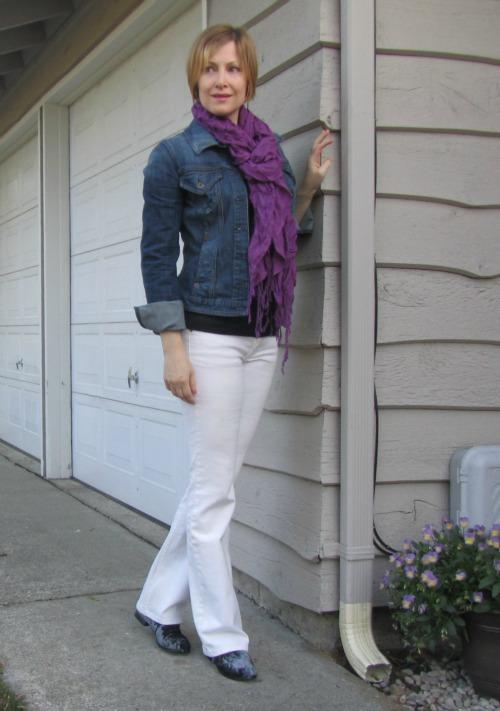 white jeans | jeanofalltrades