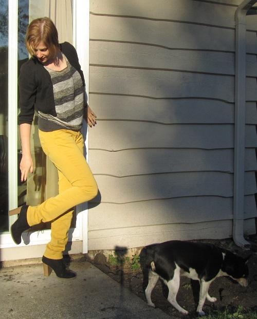 d14092ec502 yellow pants. Cardigan  Ross Dress ...