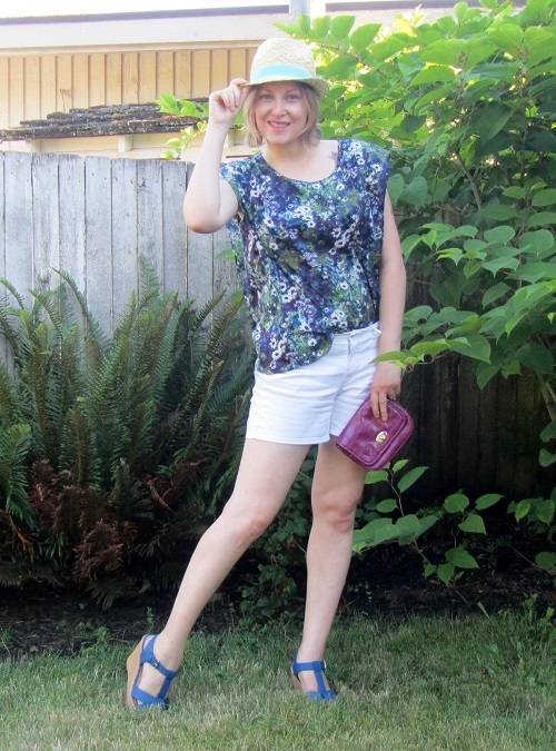 florals and shorts