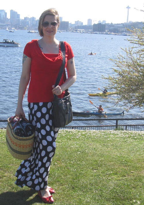 picnic and polka dots