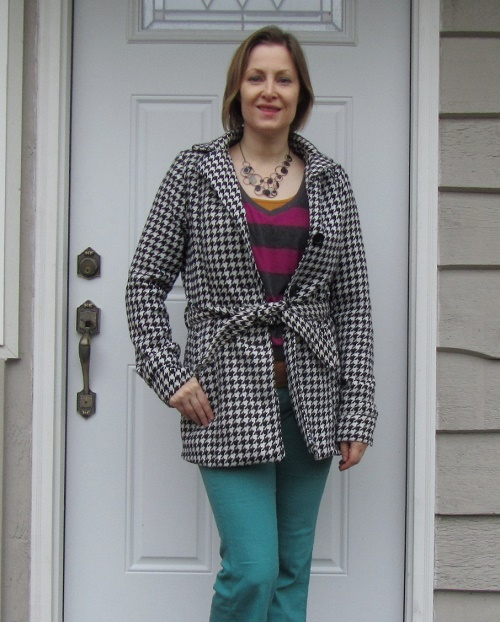 hounstooth and stripes