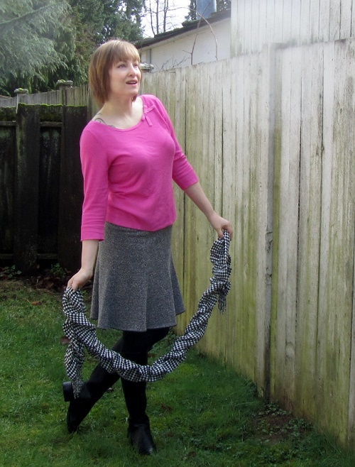 thrifty outfit