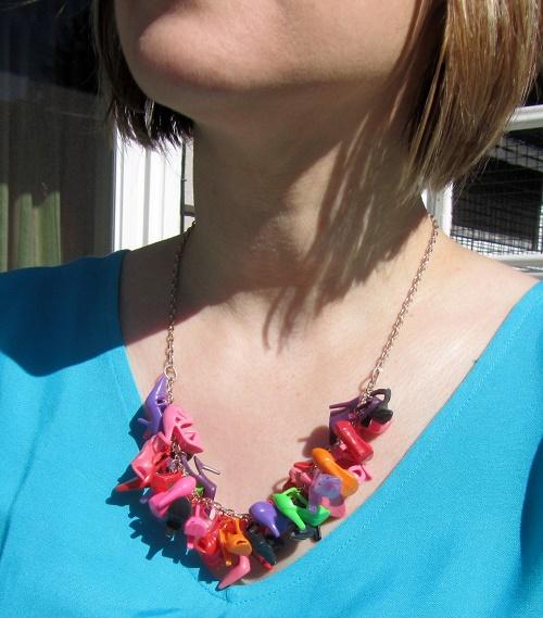 necklace detail