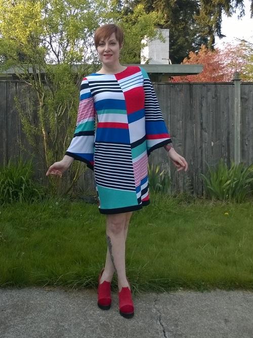 mismatched stripes