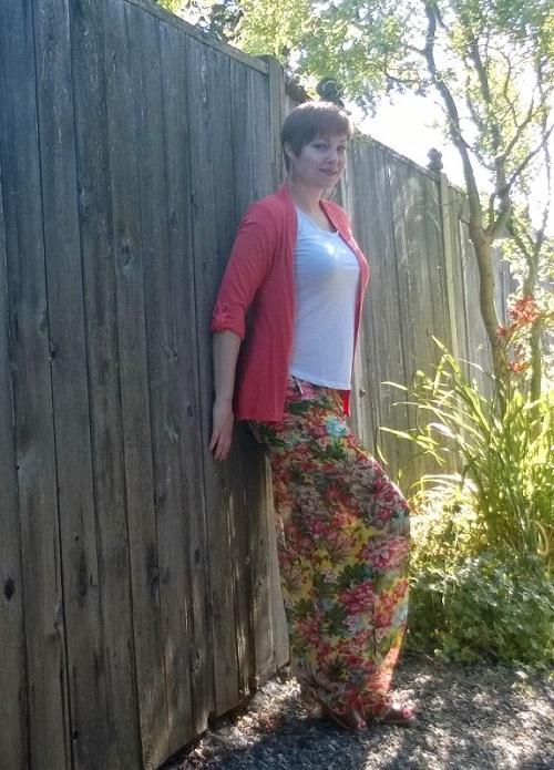 semi-sheer pants